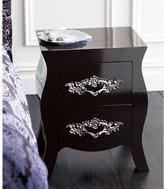 Hourglass Side Table - High Gloss Java
