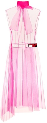 Prada Sleeveless tulle dress
