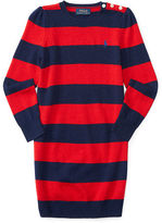 Ralph Lauren Striped Wool Sweater Dress