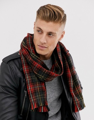 New Look scarf in plaid check