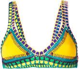 Kiini Embroidered Ro bikini top