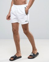 HUGO BOSS BOSS By Lightfish Swim Short In White