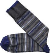 Johnston & Murphy Variegated Stripe Socks