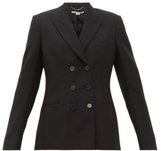 Stella McCartney Double-breasted Wool Twill Blazer - Black