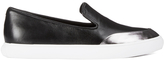 Kenzo Women's KPoint Leather Slip-On Low Top Trainers - Black