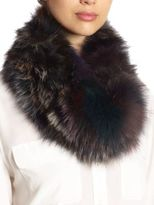 Surell Fox Fur Loop Scarf