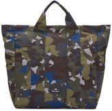 Paul Smith Multicolor Camouflage Tote
