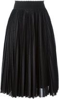 Givenchy pleated midi skirt - women - Silk/Polyester/Acetate - 36