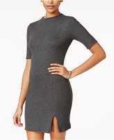 Teeze Me Juniors' Reversible Knit Slit Dress