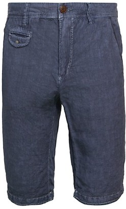 Jet Lag Linen Longline Shorts