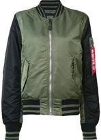 Alpha Industries 'MA-1 Slim Varsity' jacket