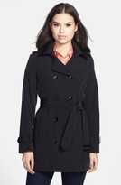 Calvin Klein Women's Double Breasted Trench Coat