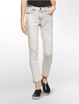 Calvin Klein Ultimate Skinny Erased Charcoal Ankle Jeans