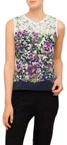 Ted Baker Fatile Entangled Enchantment Vneck Top