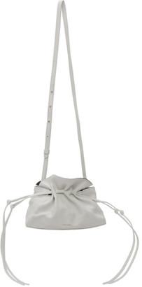 Mansur Gavriel White Mini Protea Bag