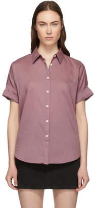 Rag & Bone Pink Tie Shirt