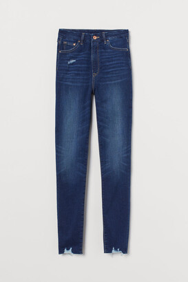 H&M Embrace High Ankle Jeans - Blue
