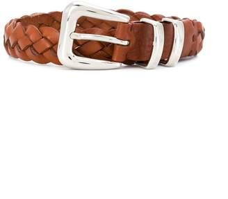 Brunello Cucinelli Kids woven leather belt