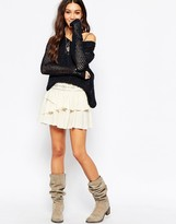 Pepe Jeans Tiered Mini Skirt
