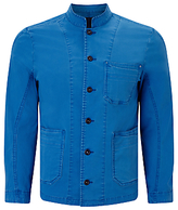 Denham Mao Apex Workwear Jacket, Blue City