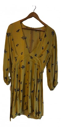 Faithfull The Brand Yellow Synthetic Dresses