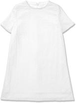 Marie Chantal White Broderie Dress