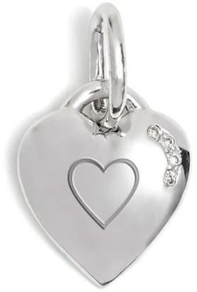 Kaizarin Tiny Heart White Gold Pendant