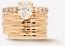Repossi Blast Diamond & 18kt Rose-gold Ear Cuff - Rose Gold
