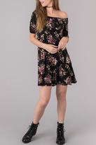 Others Follow Floral Off Shoulder Dress