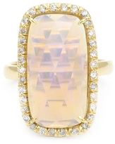 Kimberly Mcdonald diamond pavé opal ring