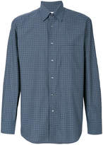 Brioni plaid shirt
