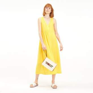Tommy Hilfiger Textured Stripe Chiffon Dress