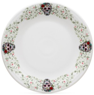Fiesta Skull and Vine Sugar Border Chop Plate