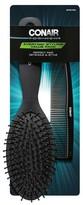 Conair Men's Brush/Comb Set Black