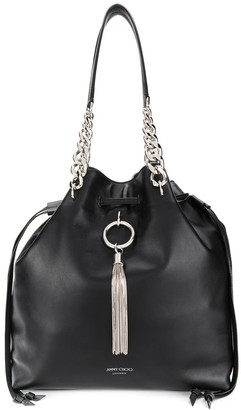 Jimmy Choo Callie drawstring leather bag