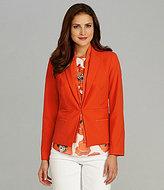 Jones New York Collection Long-Sleeve Jacket