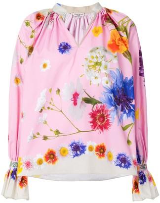 Natasha Zinko Floral Print Blouse