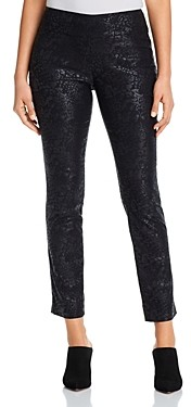 Nic+Zoe Petites Wonderstretch Animal Print Pants