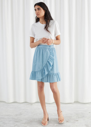 And other stories Wrap Mini Skirt