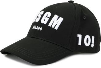 MSGM Embroidered Logo Baseball Cap