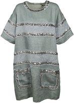 Faith Connexion Indigo Fleece Dress