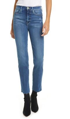 Frame Le Sylvie High Waist Raw Edge Jeans