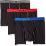 Beverly Hills Polo Club Men's 3 Pack Performance Boxer Brief