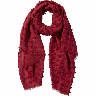 Tickled Pink Women's Knotted Squares Scarf