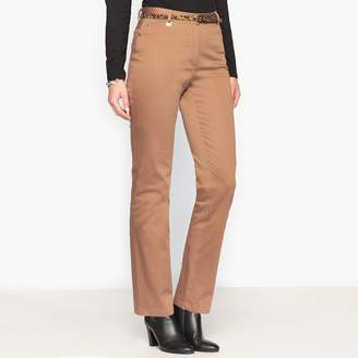 Anne Weyburn Straight Low Waist Trousers, Length 30.5""