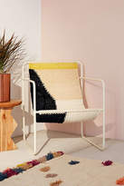Urban Outfitters Kimball Colorblock Macrame Sling Chair