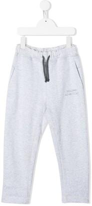 BRUNELLO CUCINELLI KIDS Logo Print Track Pants