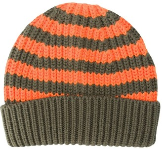 Stella McCartney Kids Horizontal-Stripe Knitted Beanie
