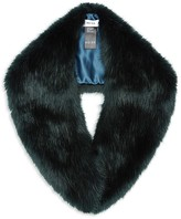 Reiss Betsy Faux Fur Collar Scarf