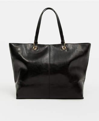 MANGO Seam Shopper Bag